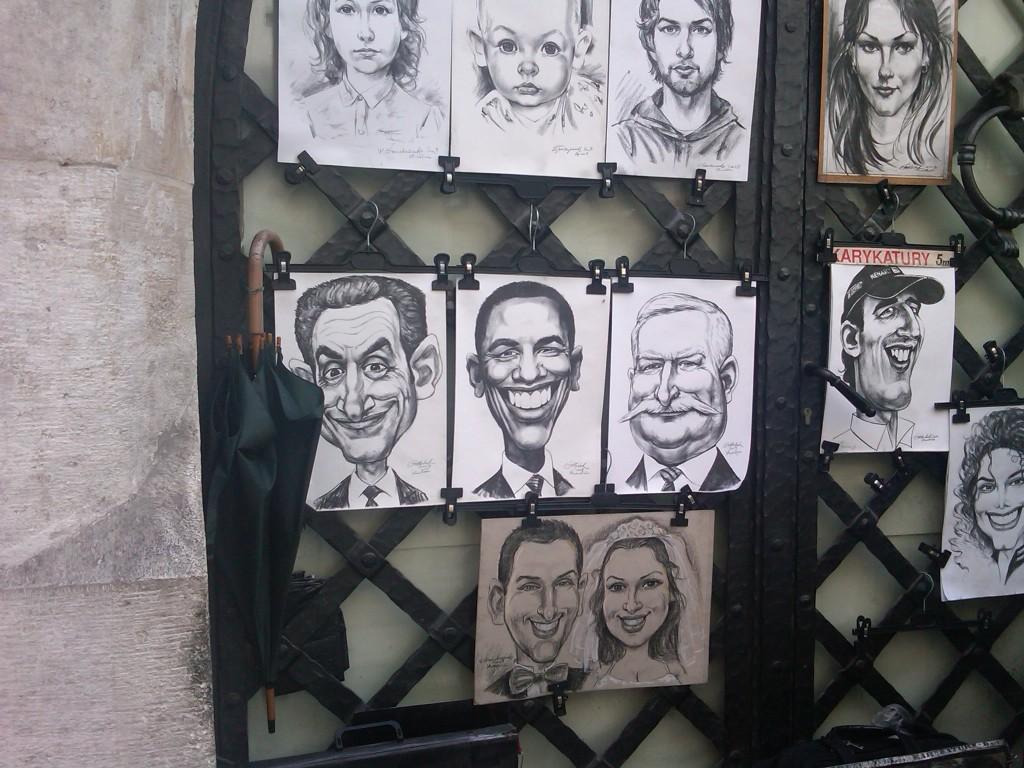 Krakow-Caricature