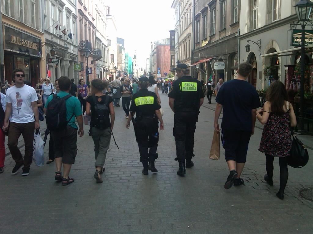 Krakow-Police